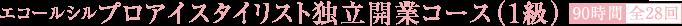 プロアイスタイリスト独立開業コース(1級)